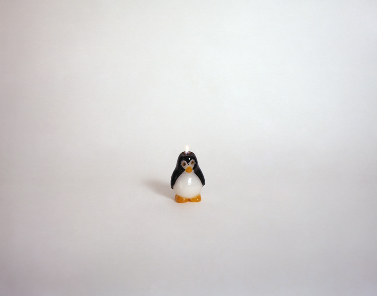 Penguin candle 97