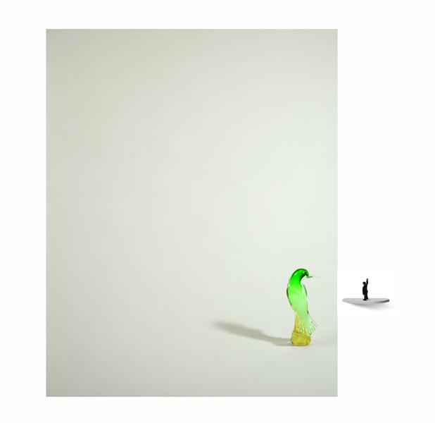 Green bird 08