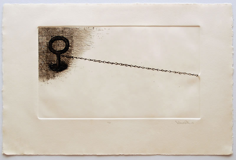 Untitled %28hook and chain%29 71  etching