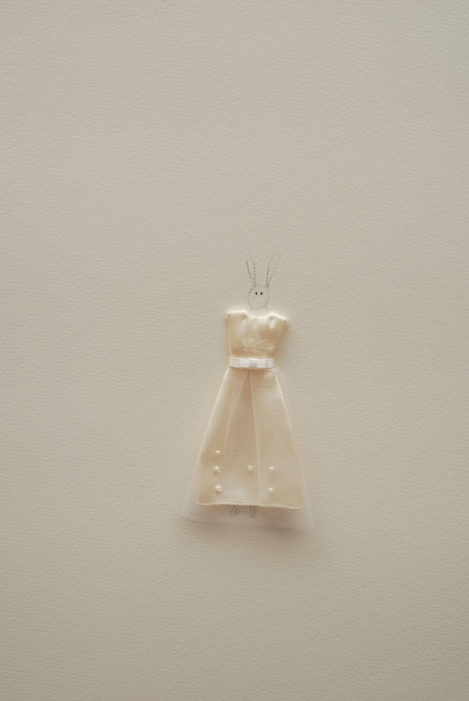 Rabbit with white dress %28closer%29