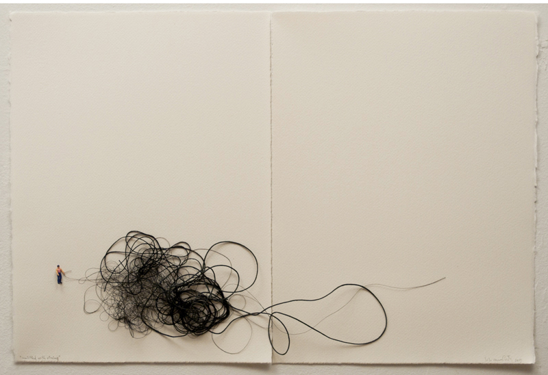 Untitled with string 2013