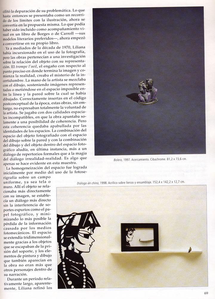 Revista art nexus  liliana porter la poesia de la comun %281%29