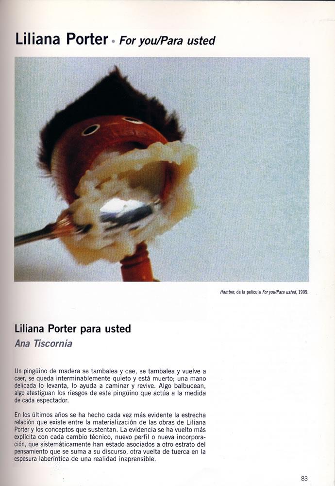 Liliana porter  for you  ana tiscornia%281%29  imago 99