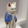 Reconstruction detail of cat with blue vest 2015 copy
