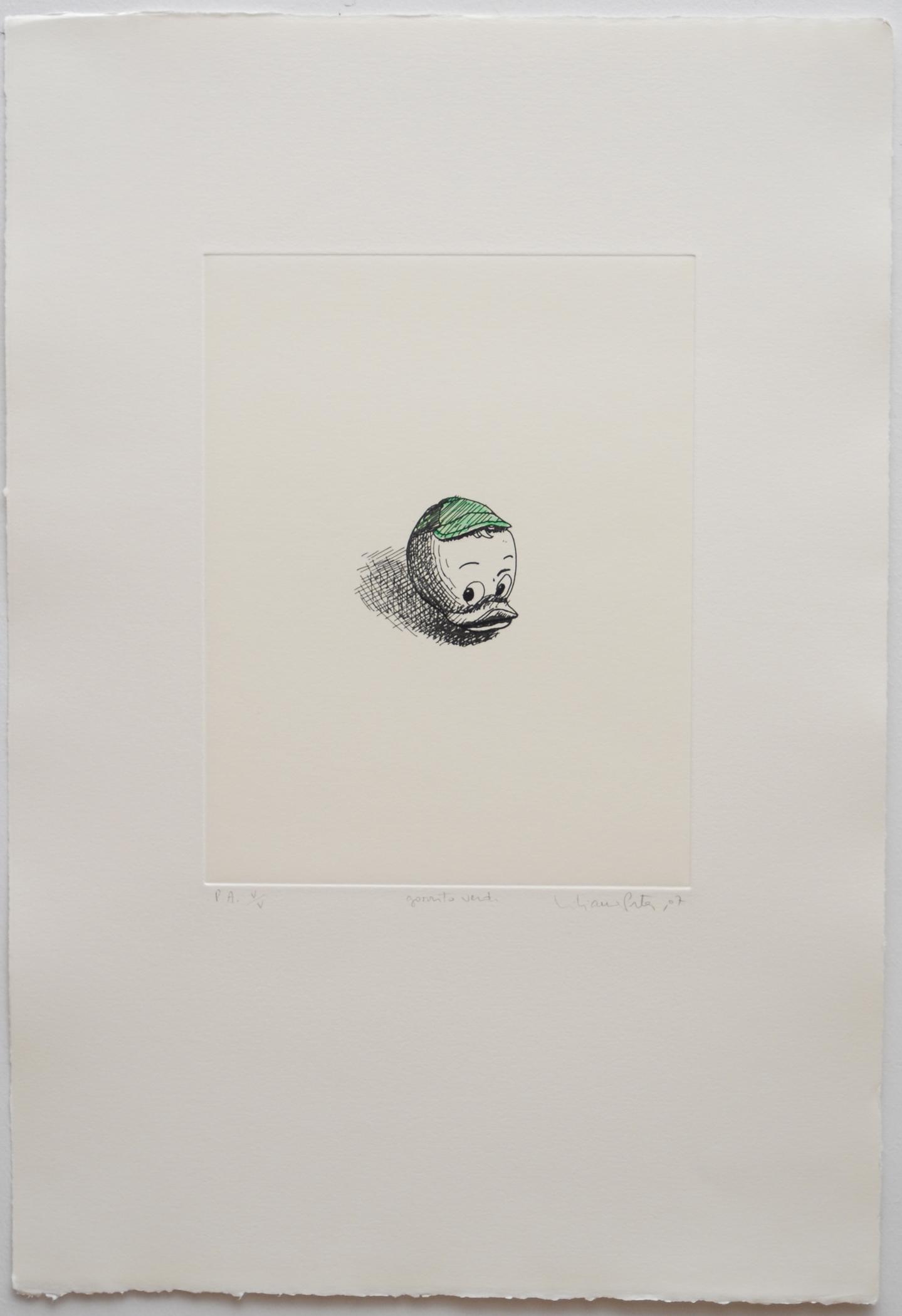 Gorrito verde  07